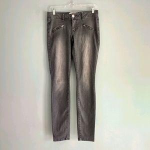 Cabi Gray Skinny Jeans Size 2